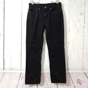 Levi's 514 Men's Black Straight Leg Jeans